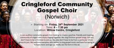 Cringleford Community Gospel Choir